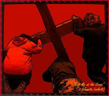 Keep Me at the Foot of the Cross Framed.2