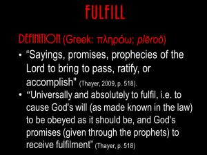 Understanding Prophecy.Blog