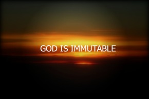 god-is-immutable