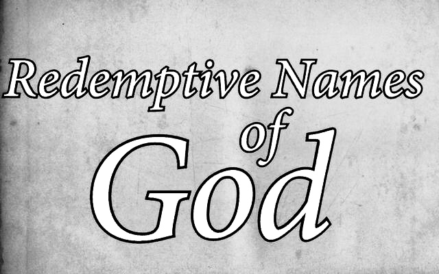 Redemptive Names of God B W